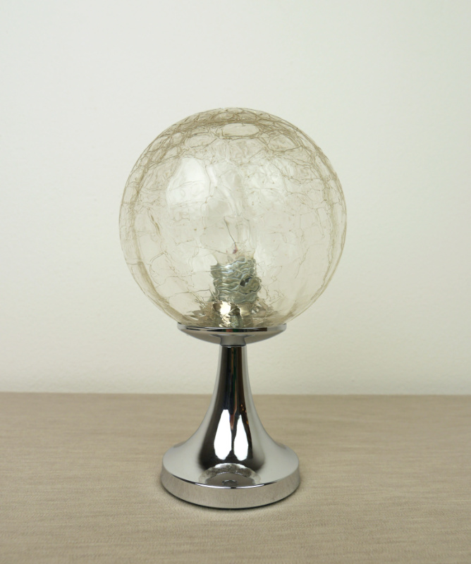tulip table lamp, space age